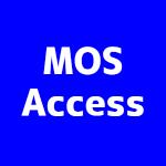 MOS試験 Accessスペシャリスト
